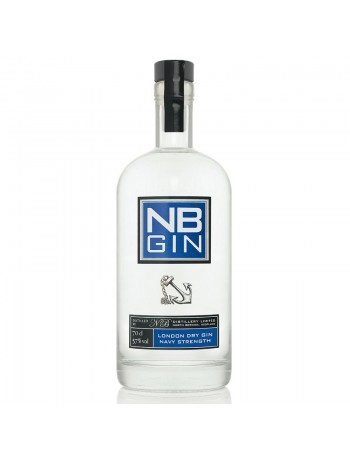 NB London Dry Gin 57% Navy Strenght - NB Destillery